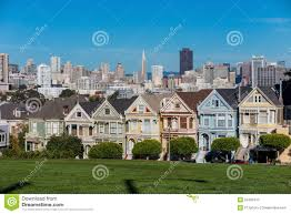 Victorian House San Francisco by The Painted Ladies Of San Francisco Alamo Square Victorian House