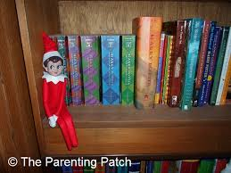 on the shelf the on the bookshelf the on the shelf day 8 parenting patch