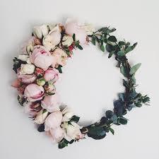 custom fresh flower crown flower los angeles