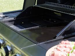 cuisiner avec barbecue a gaz barbecue à gaz 4 brûleurs 16 kw 1 réchaud sur chariot virila