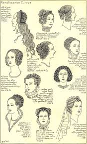 hair stryles for wopmen woht large heads renaissance hairstyles for women weren t how we normally would