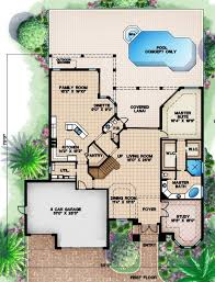 coastal house floor plans cottage house plans seaside plan small beach narrow on pilings