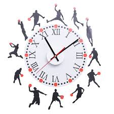 compare prices on basketball wall clock online shopping buy low