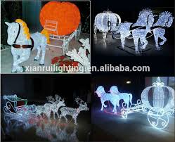 Outdoor Christmas Decorations Animals by Acrylic Outdoor Decor Waterproof Christmas Decoration Reindeer Led