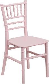 chaivari chairs kids pink resin chiavari chair le l 7k pk gg