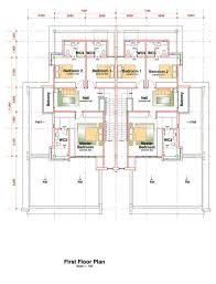 semi detached floor plans semi detached one stapok residence top green construction