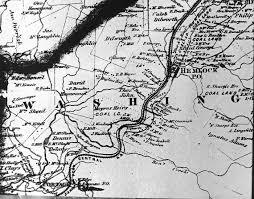 County Map Of Washington Washington Township Cambria County Pennsylvania
