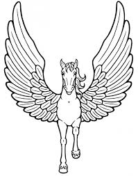 popular unicorn wings coloring pages book 3125 unknown