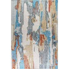 Blue Grey Area Rugs Dynamic Rugs Area Rugs Rugs The Home Depot
