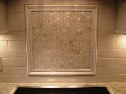 Ceramic Tile Backsplash by Over The Stove Backsplash The Mother Of Pearl Backsplash Above