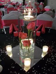 Wedding Centerpieces Floating Candles And Flowers by Submerged Flowers With Floating Candle Wedding Pinterest