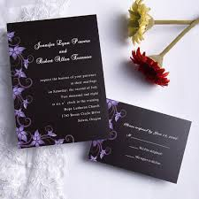 and black wedding invitations wedding stationery weekly floral wedding invites invites