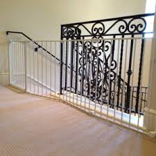 Baby Gate For Stairs With Banister And Wall Decor U0026 Tips Cool Ideas To Revamp Your Stairs Using Stylish