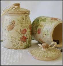 Handmade Home Decor 252 Best Decoupage Glass Jars And Tins Images On Pinterest