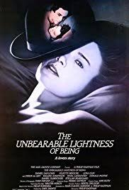 the incredible lightness of being the unbearable lightness of being 1988 imdb
