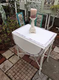 shabby chic side table sold vintage shabby chic side table entry table drop leaf