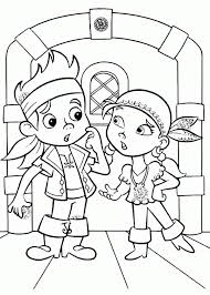 jake neverland pirates coloring pages printable free
