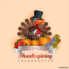 thanksgiving tie happy thanksgiving message and turkey proud of his