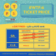 we the on wtf16 ticket price update our 2 day