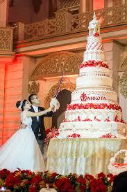 wedding cake semarang teddy gabby wedding by mahkota wedding organizer bridestory