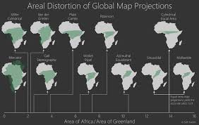 Map Projection Vizual Statistix U2022 Chances Are Most Of The Maps You Look At Use A