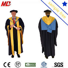 phd graduation gown customized oxford and cambridge phd doctoral graduation gown buy