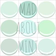 benjamin moore mint green paint swatches i created this to help