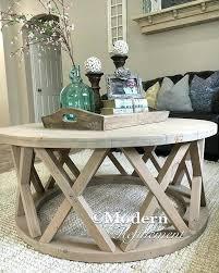 diy round farmhouse table diy round coffee table ideas gorgeous rustic round farmhouse coffee