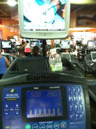 Stair Master Workout by Dad I Had A Big Lunch