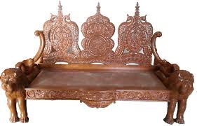 Wooden Sofas Wooden Sofa With Carving Kashiori Com Wooden Sofa Chair