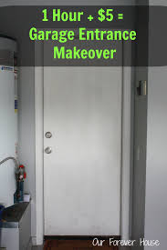 Interior Door Makeover Our Forever House Cheap Back Door Makeover