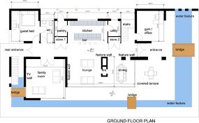 Floor Plans For House Modern Plans For Houses Brucall Com
