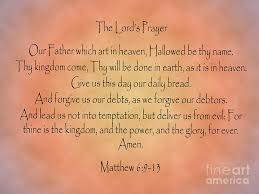 the prayer matthew bible verse digital by angela sullivan