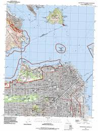 San Francisco Ferry Map by San Francisco North Topographic Map Ca Usgs Topo Quad 37122g4