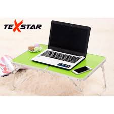 portable folding computer desk texstar aluminium foldable laptop table portable folding computer