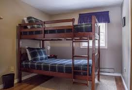 Forest  Stream Cottages Murray Harbour Canada Bookingcom - Harbour bunk bed