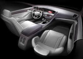 Optima Kia Interior Interior Rendering Of Kia U0027s 2011 Optima Car Hits The Web Kia