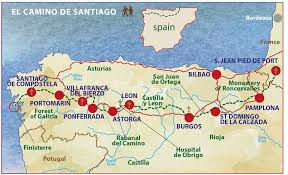 Burgos Spain Map by El Camino De Santiago Pilgrimage The Way To The Tomb Of St James