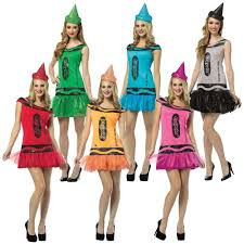 crayola crayon party dress funny group costume fancy