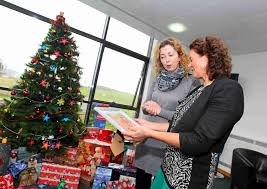 whitfield clinic giving tree appeal in aid of st vincent de paul