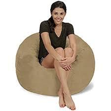 Lovesac Vs Ultimate Sack Amazon Com Cordaroy U0027s Chenille Bean Bag Chair Tan Full Kitchen