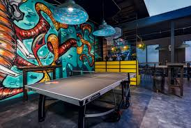 serve u0027s up montreal u0027s ping pong bar playground opens today