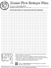 15 home escape plans nfpa make a home fire escape plan opulent