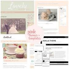 pink blogger templates and pink wordpress themes both premium and
