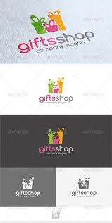 gifts shop logo by kapacyko graphicriver