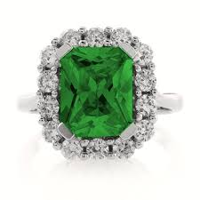 emerald silver rings images Emerald sterling silver ring silverbestbuy jpg