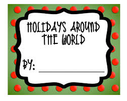 mrs lirette s learning detectives holidays around the world