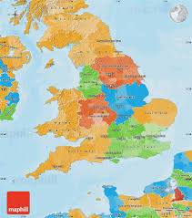 Hertfordshire England Map by Political Map Of England