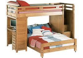 Kid Bed With Desk Creekside Taffy Step Bunk Bed With Desk Bunk Desk