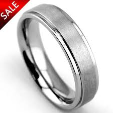 durable wedding bands 6mm matte step edge light weight titanium ring highly durable